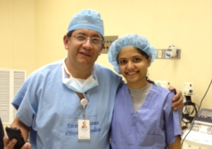 photo with anesthesiologist